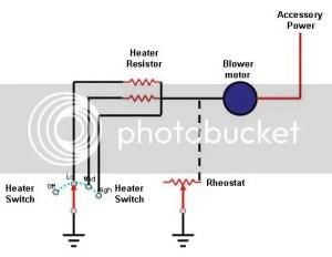 65 heater wiring   Mustang Forums at StangNet