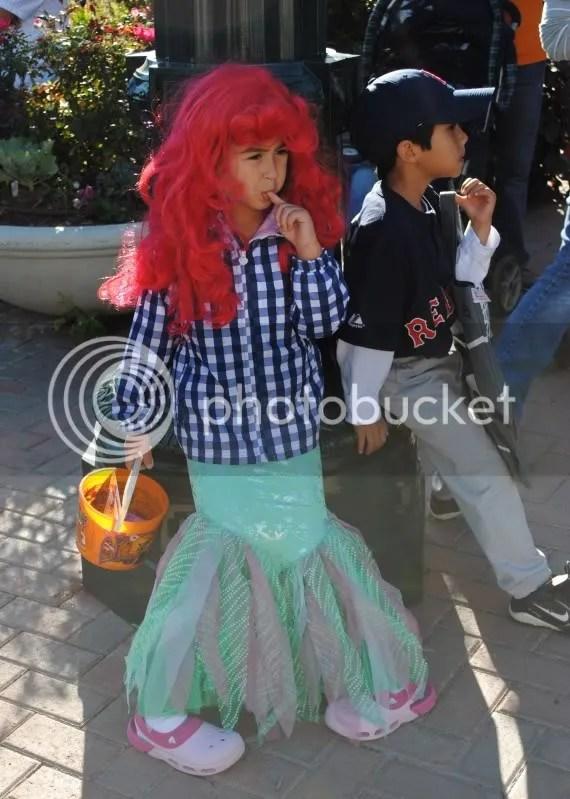 A Tired Little Mermaid