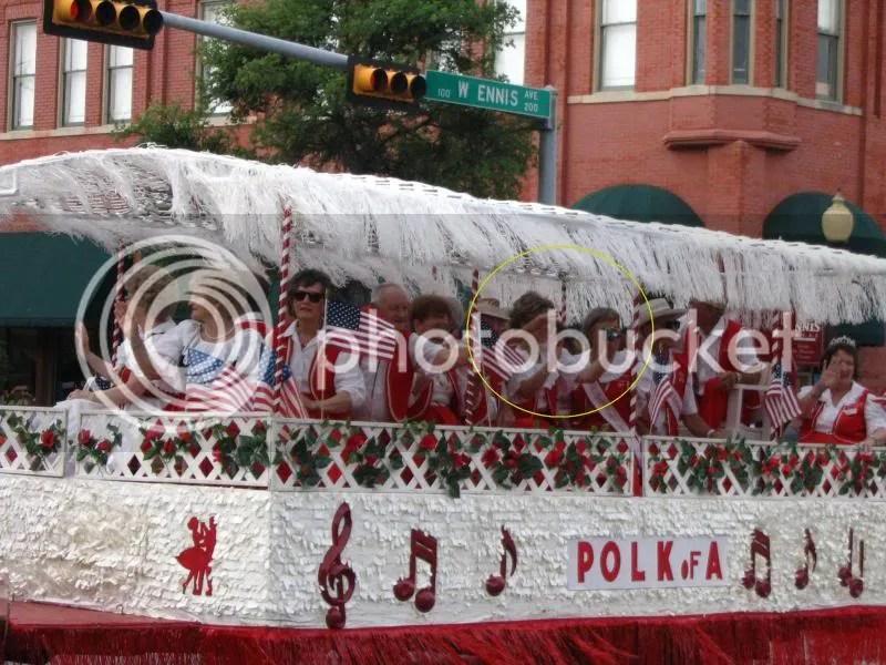 Photo From 2008 Ennis Polka Festival Parade