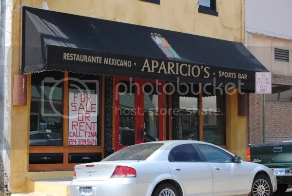 Aparicio's Closed