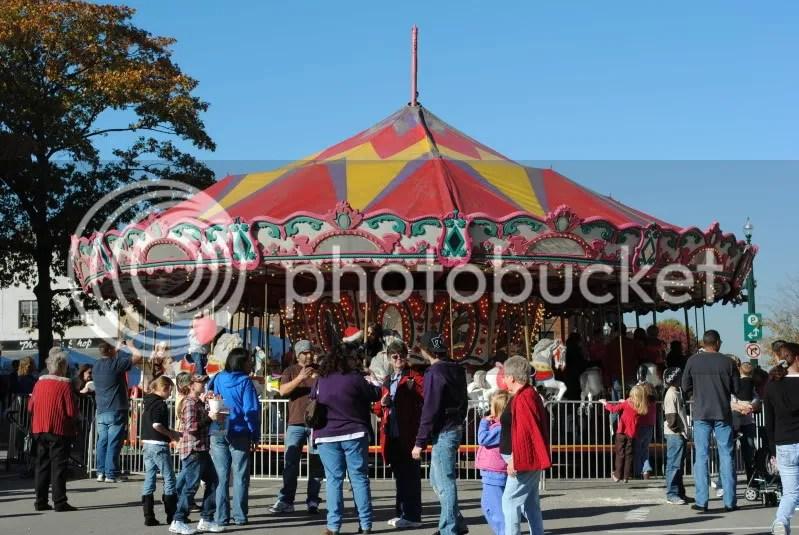 30 Horse Wooden Carousel