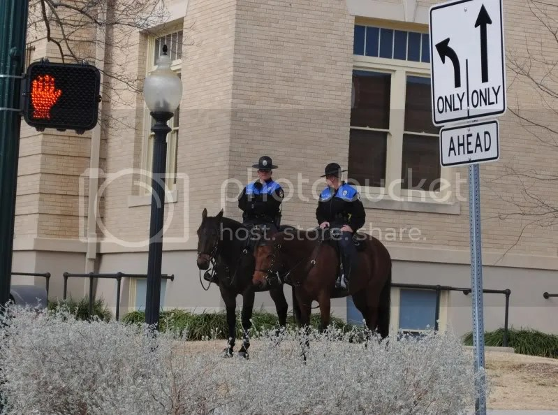 Mounted Patrol on the Square
