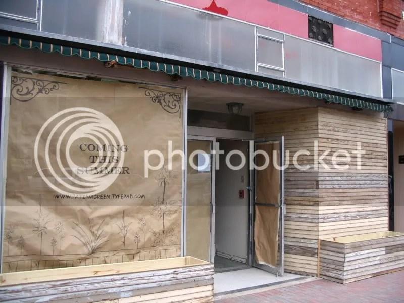 Patina Green Home & Market Store Front Improvements