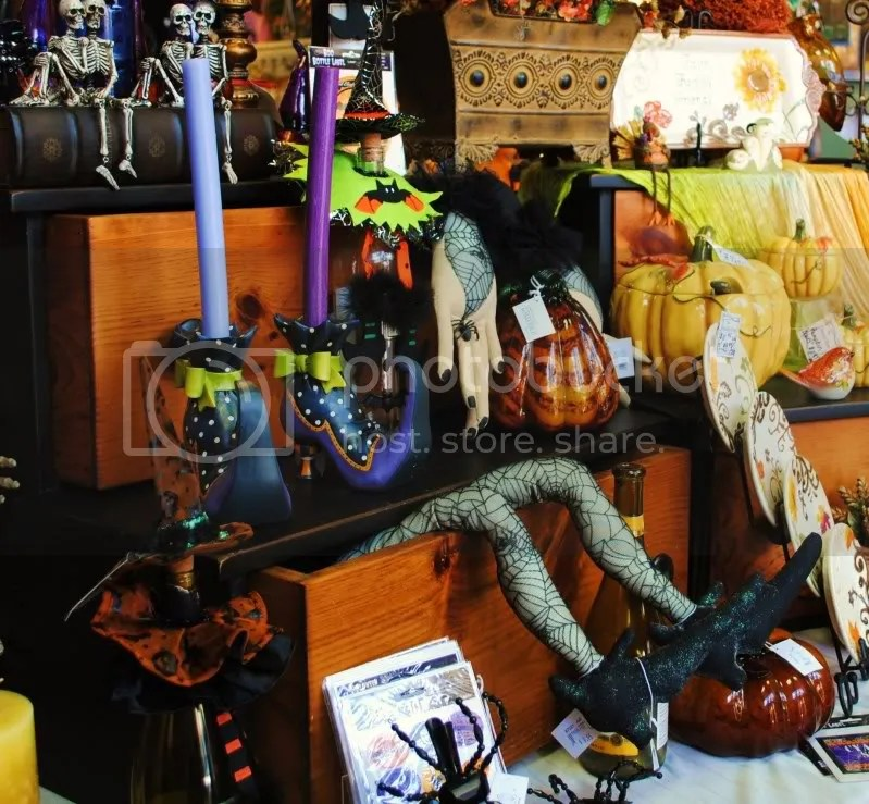 Halloween at The Sample Shop