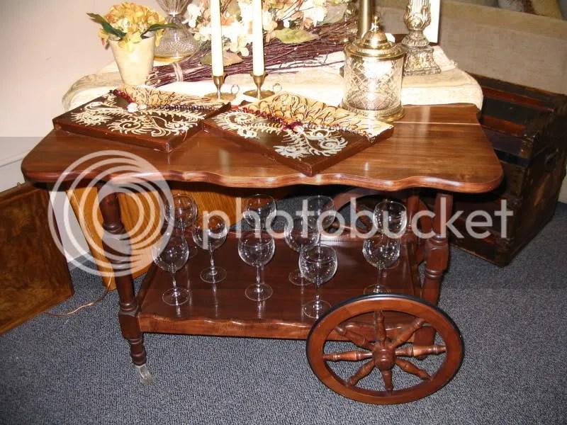 Tea Cart at Home & Garden Consignment