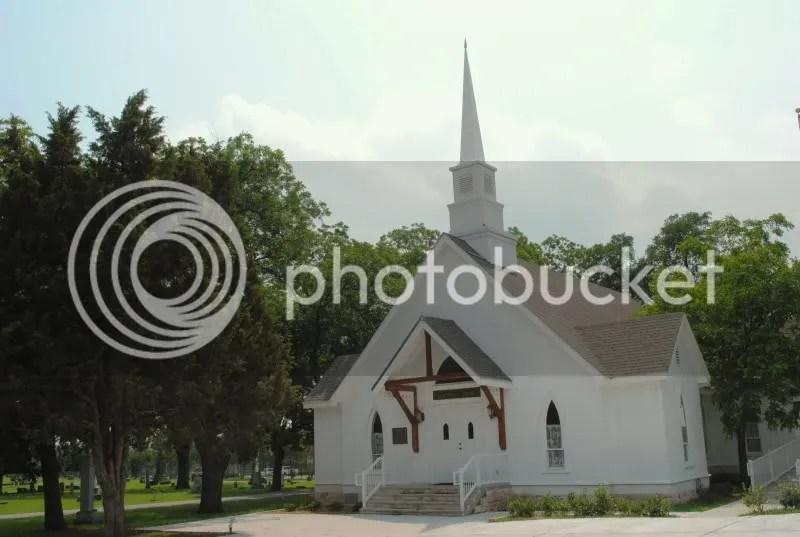 Pecan Grove Cemetery Chapel