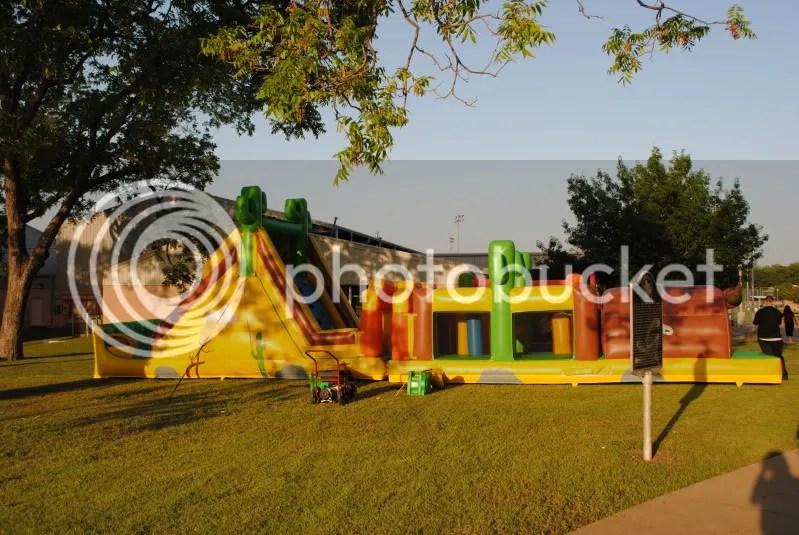 Bounce Tent at Cinco de Mayo