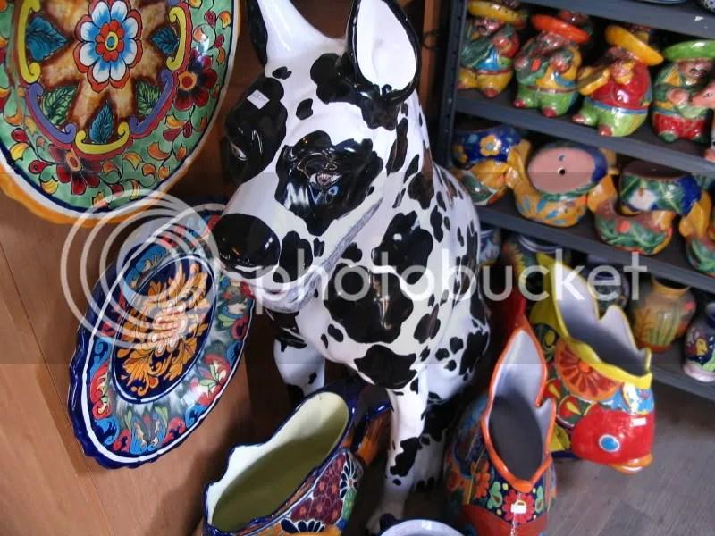 Ceramic Dog @ Colmenero Mexican Imports
