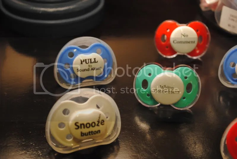 Pacifiers From Giggle Brush