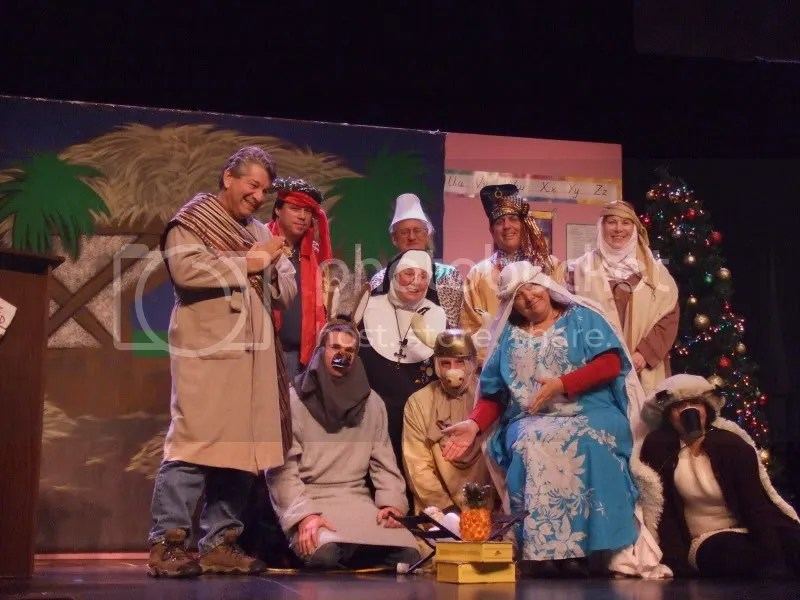 The Nativity Play Posse