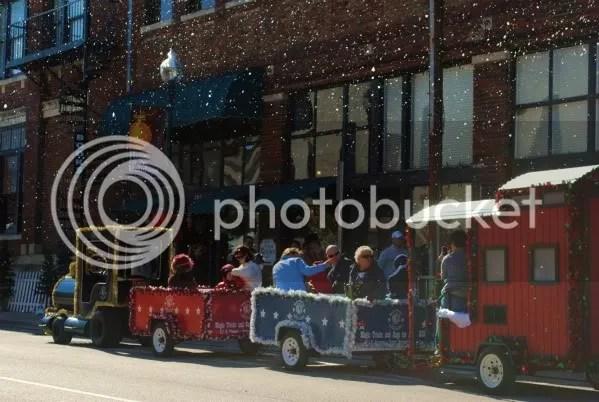 Frosty's Train Was Very Popular