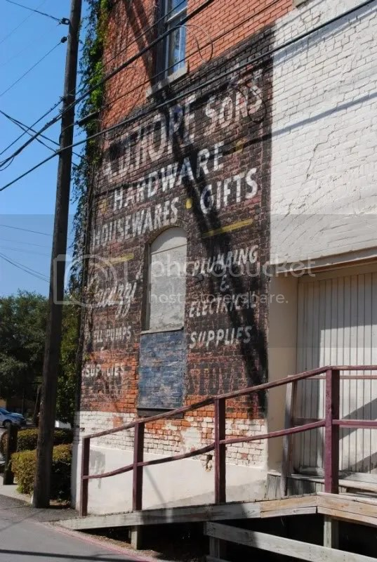 Beautiful Ghost Sign on Pantry's Outside Wall