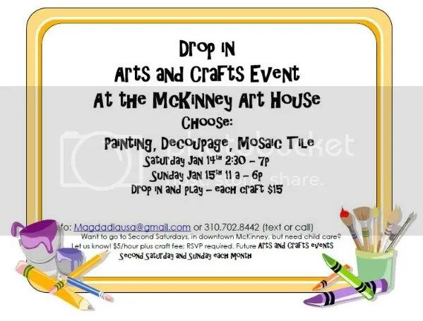 Arts & Crafts Drop In