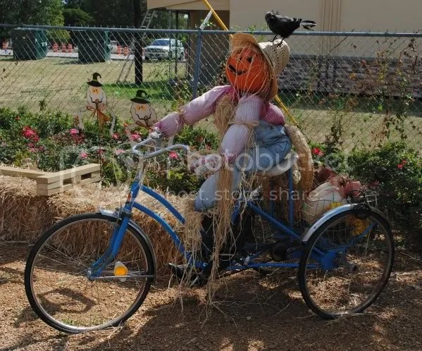 Bicycling Scarecrow