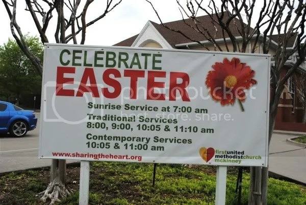 Easter Services at First United Methodist Church