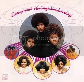 PIc of The Supremes' New Ways... album sleeve