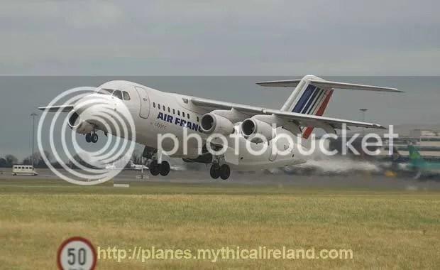 Image of Air France / Cityjet plane.