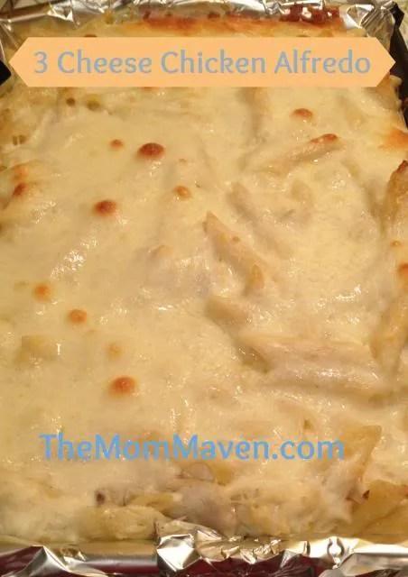 3 Cheese Chicken Alfredo