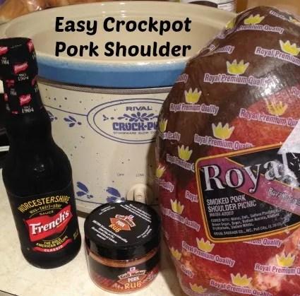 Easy Crockpot Pork Shoulder Recipe
