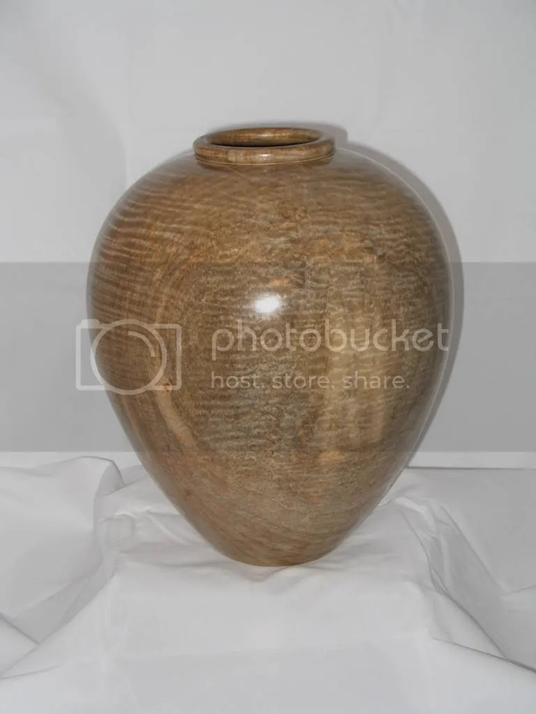 Large maple vessel