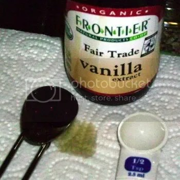 Real Vanilla + Water = Delicious.  Trust me.