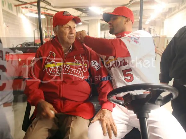 I am thankful both these men wear Cardinal red.