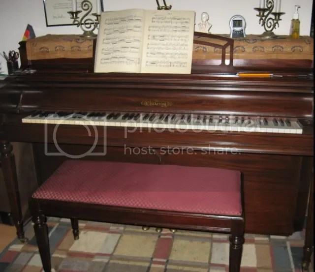 1950 Chickering Console