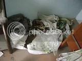 bolsas de plástico al otro lado