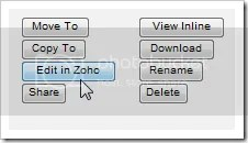 Zoho and ADrive integration