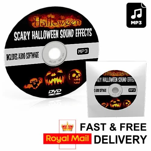 Halloween Horror Sound Effects 2017 Music DVD MP3 & Audio ...