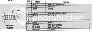 Dome Light Circuit Board  Jeep Cherokee Forum