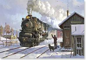 View Topic LIRR Christmas Cards