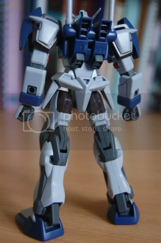 duel,gundam,gundam seed,mobile suit,back view