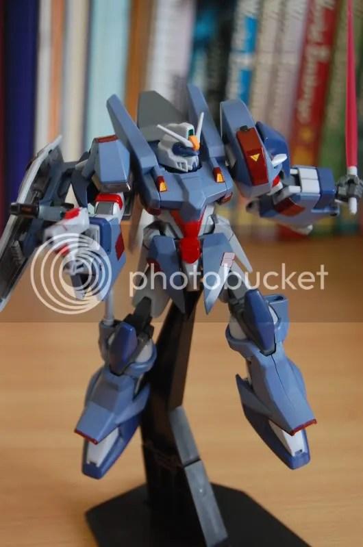 blu duel,gundam seed,gundam seed stargazer,mobile suit,pistol,pose,stand,model kit,gundam