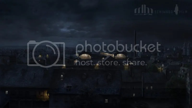 Vienna Night Matte Painting by Jacklionheart 170 Matte Paintings de babar