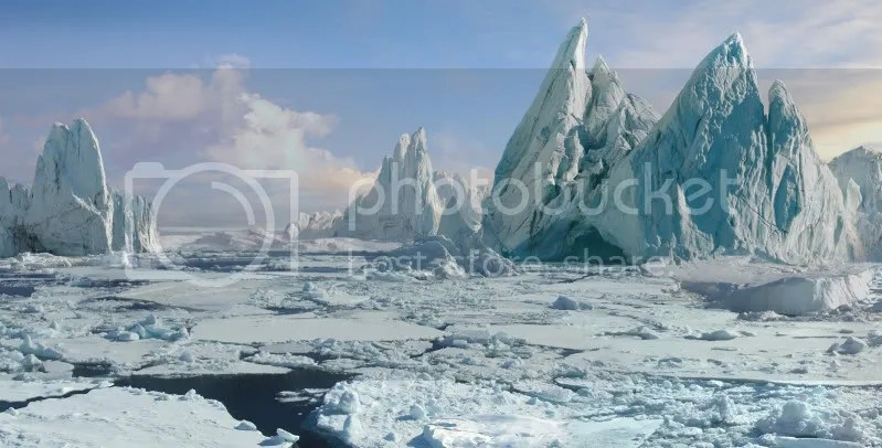 iceberg 170 Matte Paintings de babar