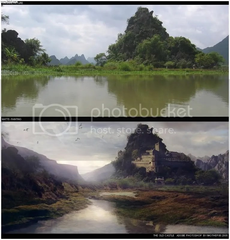imothep85 13 170 Matte Paintings de babar