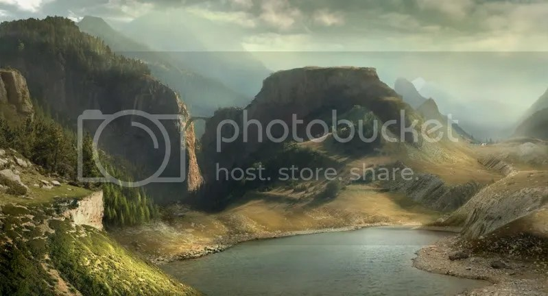oversheep1 170 Matte Paintings de babar