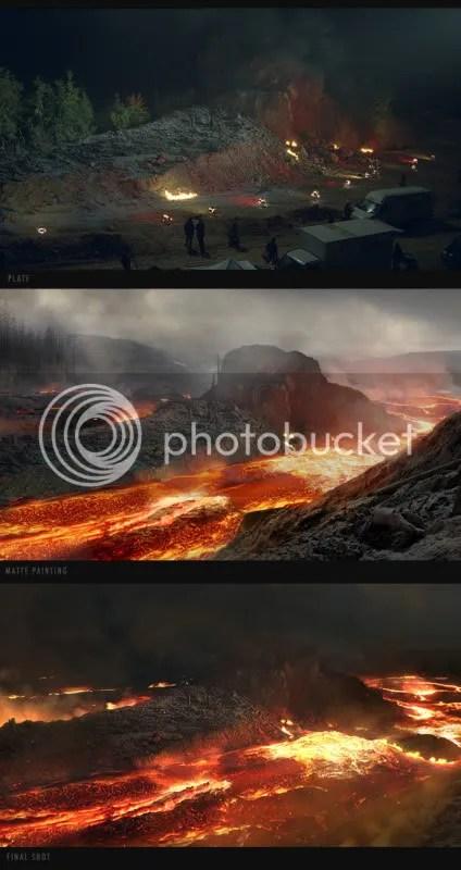 vulkan insel seite 170 Matte Paintings de babar
