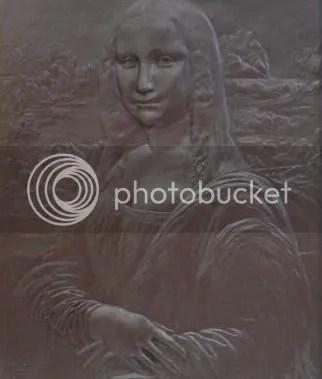 choco mona Mona Lisa remake