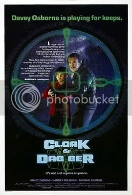 cloak and dagger Os melhores filmes dos anos 80   parte2
