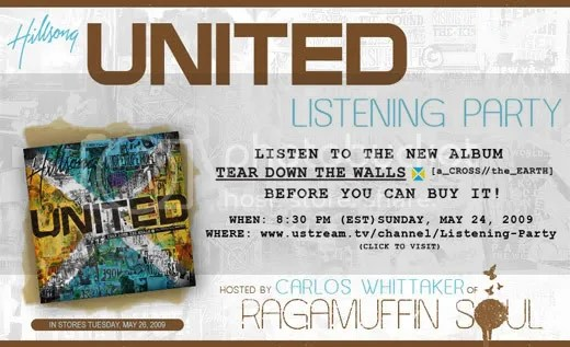 Hillsong United Listening Party