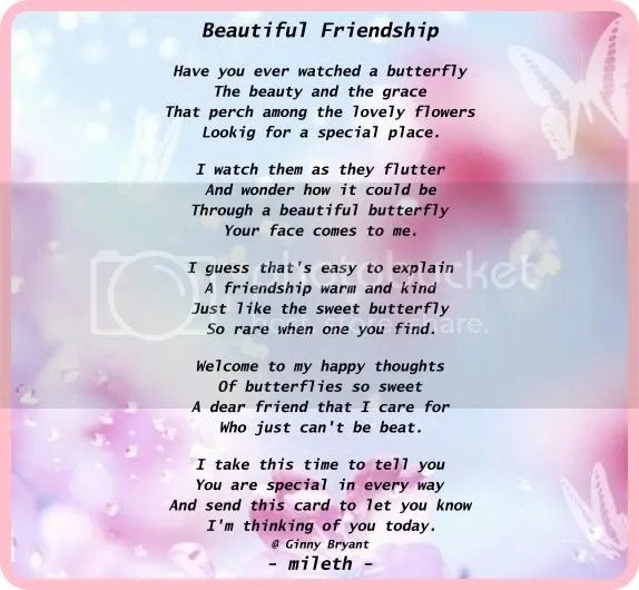 Friends Forever Poems 1