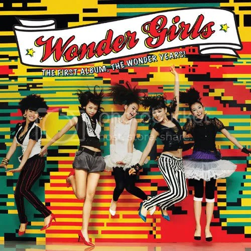 1st album wonder girls Pictures, Images and Photos