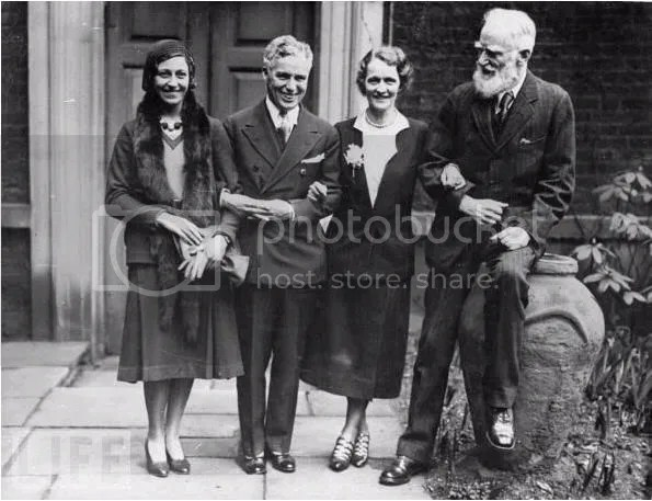 Image result for george bernard shaw with others