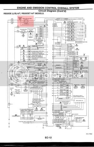 S15 engine harness wire (ECCS)  Tech Help  SilviaWA