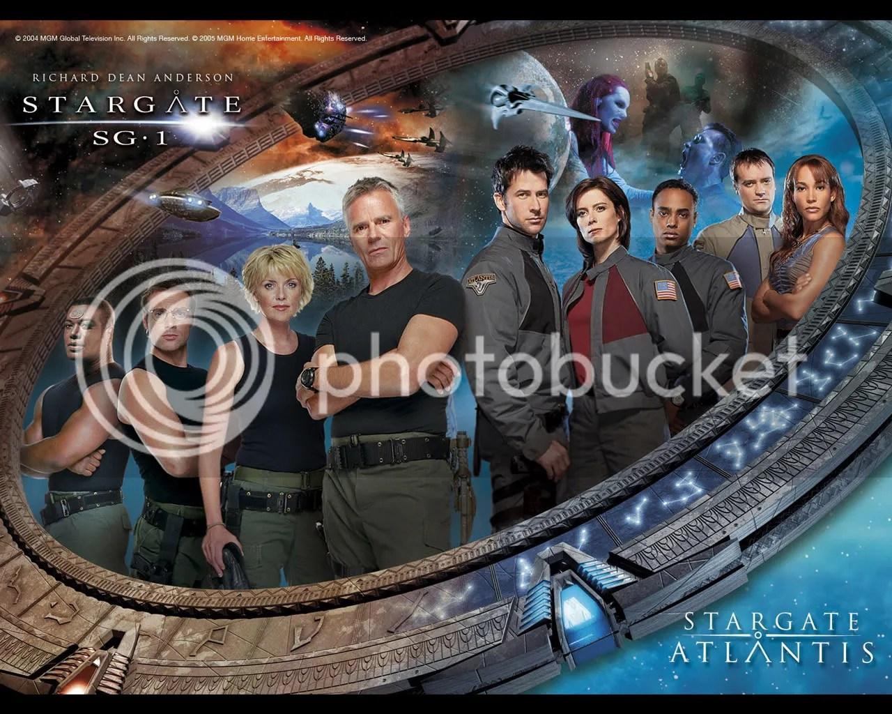 Stargate SG1 Atlantis