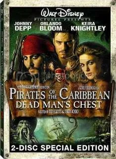 Pirates of the carribean dead man's chest