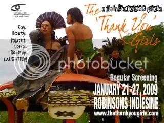 The Thank You Girls - Jan 21-27 Robinsons Indiesine - Manila