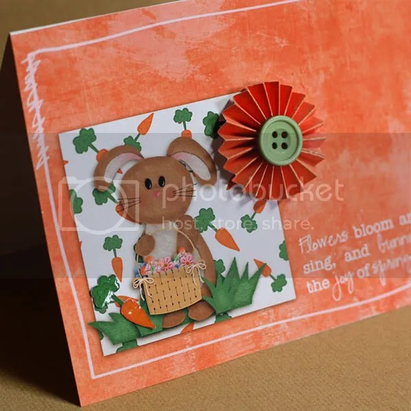 Bunny Spring card